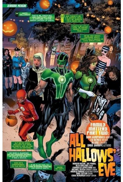 Green Lanterns (2016-) #8 Fasikül İngilizce Çizgi Roman