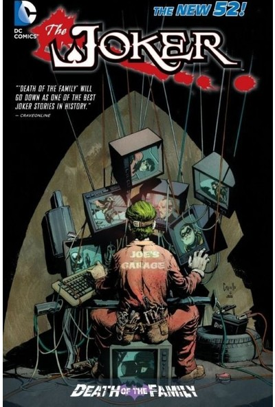 The Joker: Death Of The Family (The New 52) İngilizce Çizgi Roman