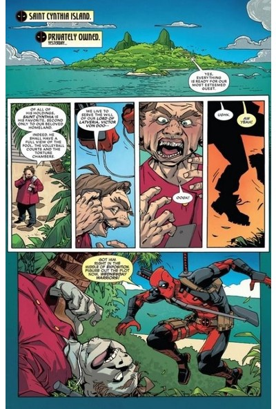 Deadpool Vs. Thanos İngilizce Çizgi Roman