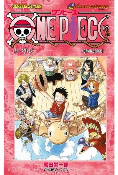 One Piece 32. Cilt 'Adanın Şarkısı' Türkçe Çizgi Roman - Eiiçiro Oda