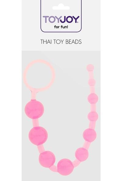 Toy Joymuck Toy Joy 10 Kademeli Pembe Anal Zevk Topları