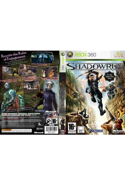 Microsoft Shadowrun Xbox 360