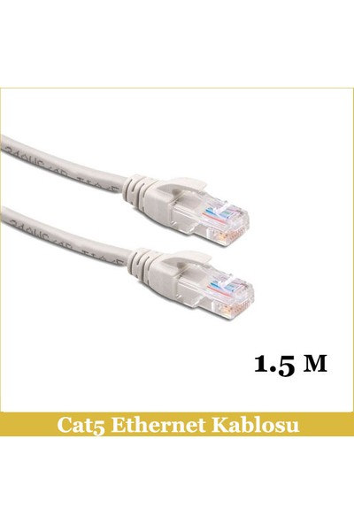 Ti-mesh Cat5E Network Cable Od:5.2 7/0.16 Cu*8C - 1,5M