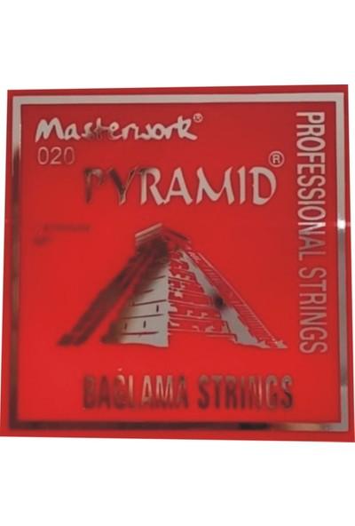 Masterwork 020 Kaliteli Saz Teli Pyramid - Uzun Sap