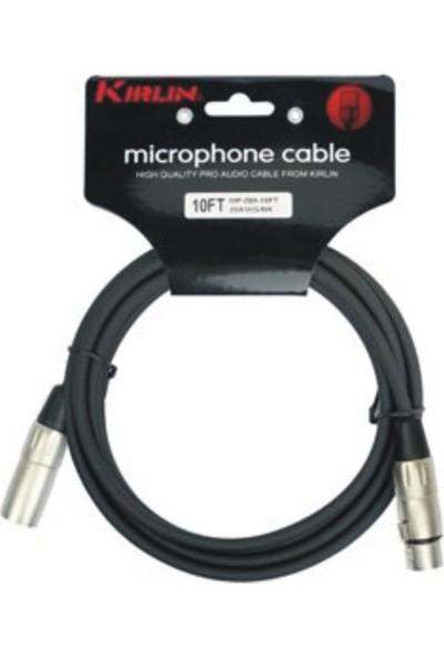 Kirlin Mp-480-3M-Bk Mikrofon Kablosu 3 Metre