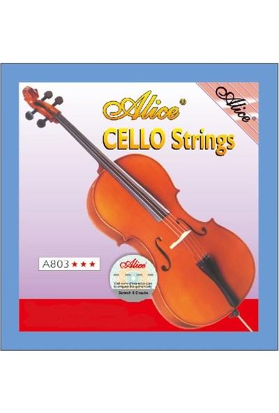 Alice A803 Cello String Çello Teli