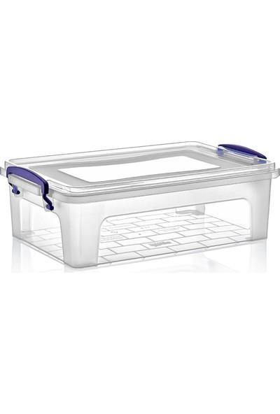 Dünya Plastik 6 lt Clear Box Saklama Kutusu