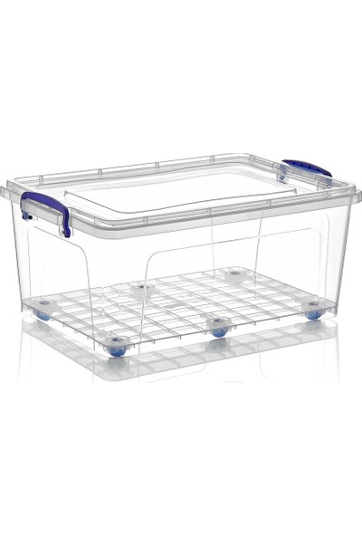 Dünya Plastik 30 lt Clear Box Saklama Kutusu