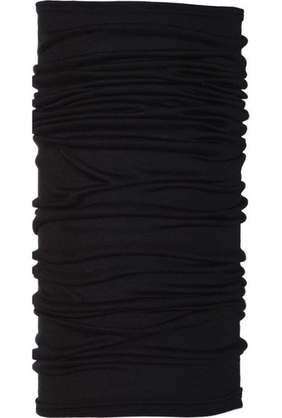 Buff Black - Wool Bandana