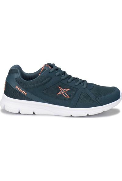Kinetix Kalen Tx Petrol Neon Turuncu Turkuaz Erkek Koşu Ayakkabısı