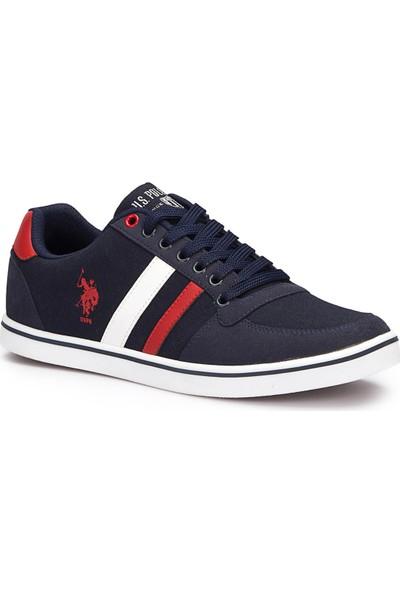U.S. Polo Assn. Reggie Lacivert Erkek Sneaker Ayakkabı