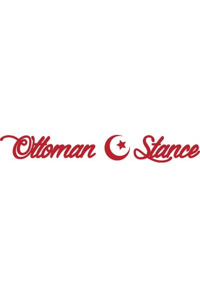 Smoke Ottoman Stance Sticker Bordo