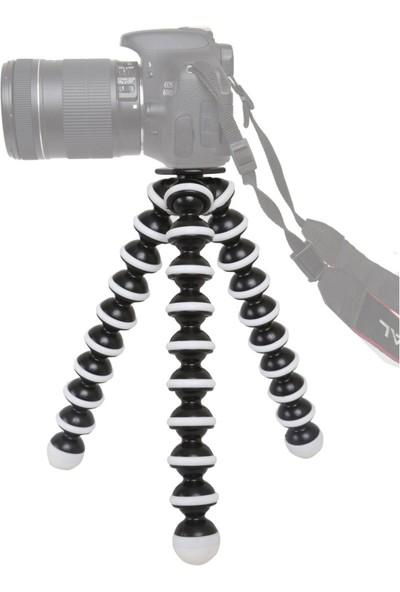 Knmaster Sony Aksiyon Kamera Uyumlu Gorillapod Ahtapot Tripod Büyük Boy (25*6Cm)