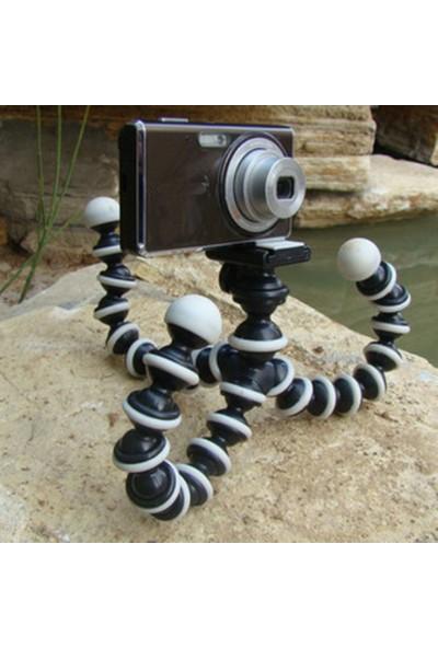 Knmaster Sony Aksiyon Kamera Uyumlu Gorillapod Ahtapot Tripod Küçük Boy (16,5*3,5Cm)