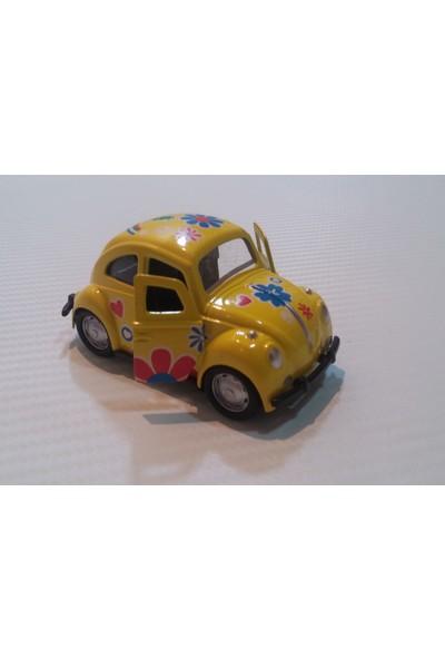 Vosvogen Çek Bırak Metal Araba Sarı