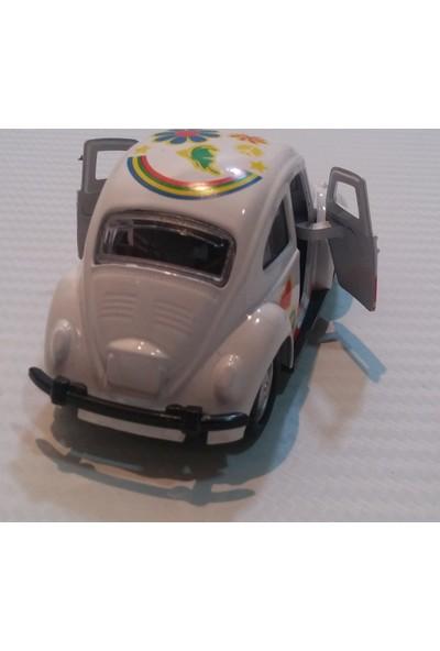 Vosvogen Çek Bırak Metal Araba Beyaz