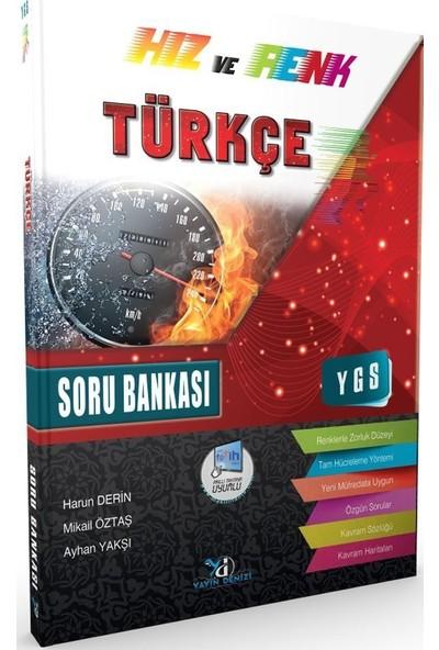 Yayın Denizi YGS Türkçe Hız ve Renk Soru Bankası