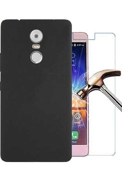 TG Lenovo K6 Note Premier Silikon Kılıf + Ekran Koruyucu