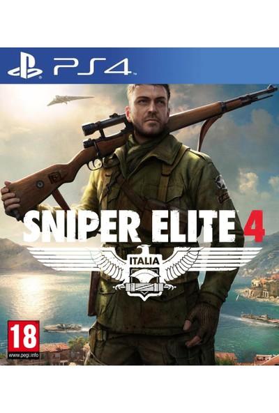 Sniper Elite 4 Italia PS4 Oyun