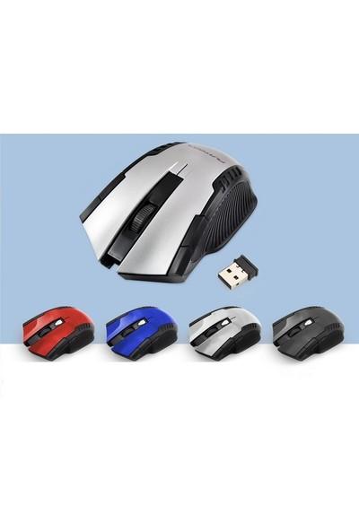 Platoon 1849 Kablosuz Mouse - Wireless Mouse - Mavi Renk