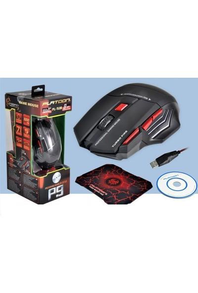 Platoon 1590 Oyuncu Mouse - Gamer Mouse - Programlanabilir CD