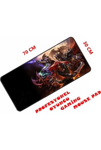 Appa Lol 2 Oyuncu Mouse Pad Dikdörtgen 70X30 Cm