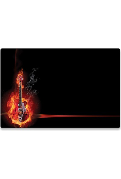 Manhattan Notebook Computer Skin, Fits Most Widescreens Up To 17 İn., Guitar