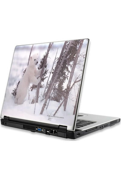 Manhattan Notebook Computer Skin, Fits Most Widescreens Up To 17 İn., Snow Cub