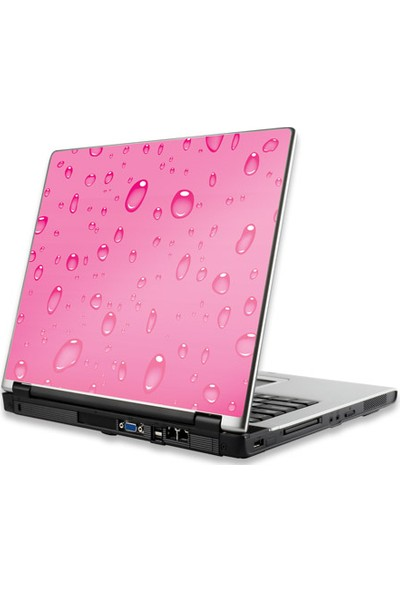 Manhattan Notebook Computer Skin, Fits Most Widescreens Up To 17 İn., Water Drops