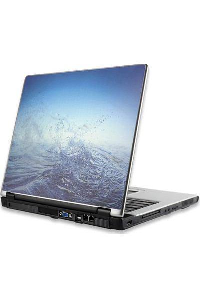 Manhattan Notebook Computer Skin, Fits Most Widescreens To 15.4 İn., Blue Water