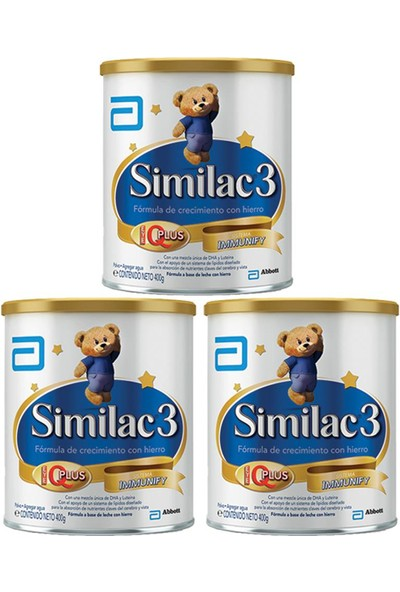 Similac 3 Devam Sütü 360 gr - 3'lü