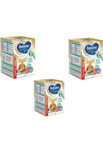 Bebelac Gold 2 Devam Sütü 900 gr - 3'lü