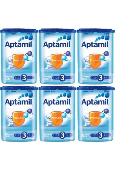 Aptamil 3 Devam Sütü 900 gr - 6'lı