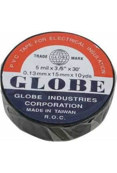 Carub Globe 19Mm Orjinal İzole Elektrik Bant (5Adet)