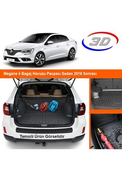 Quadro Megane 4 Bagaj Havuzu Paspası Sedan 2016 Sonrası
