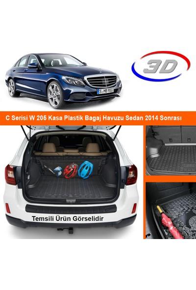 Quadro C Serisi W 205 Kasa Plastik Setli Bagaj Havuzu Sedan 2014 Sonrası