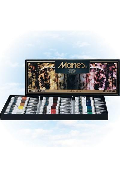 Maries Yağlı Boya 18 Renk X 12 Ml (E1382)