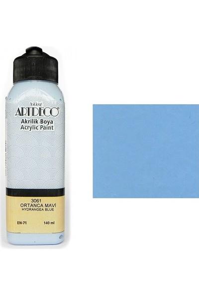 Artdeco Akrilik Boya 140 Ml Ortanca Mavi