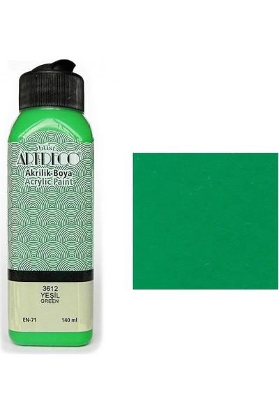 Artdeco Akrilik Boya 140 Ml Yeşil Y-070R-3612