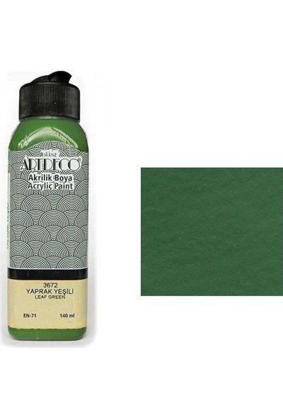 Artdeco Akrilik Boya 140 Ml Yaprak Yeşil Y070R3672