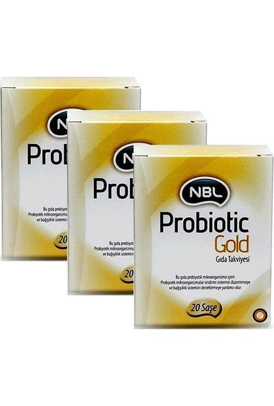 Nbl Probiotic Gold 20 Saşe - 3Adet