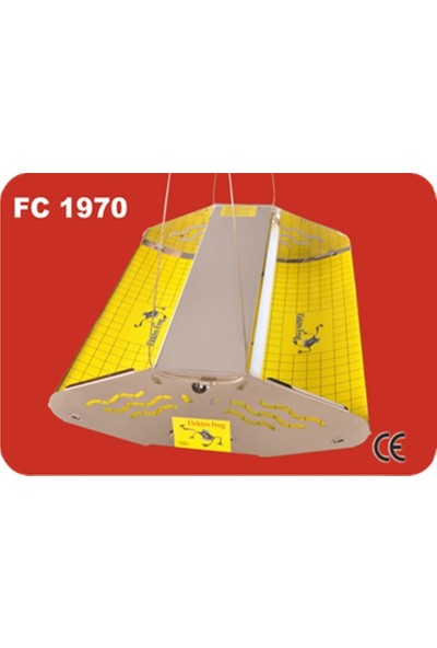 Elektro Frog Çift Yapışkanlı Sinek Tutucu Fc 1970 2X40 Wat