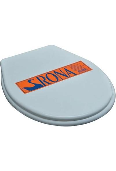 Rona Standart Model Plastik Klozet Kapağı