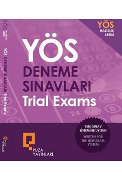 Puza Yayınları YÖS Deneme Sınavları - Trial Exams