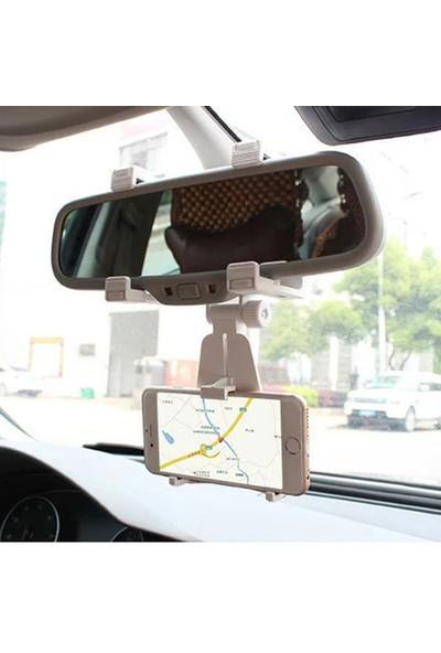 iMount Araç İçi Dikiz Aynası Telefon Navigasyon Tutucu Tutacağı