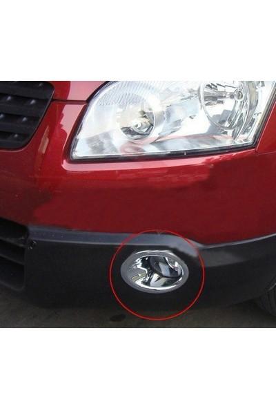 Z Tech Nissan Qashqai 2010-2013 Abs Krom Sis Farı Çerçevesi 2 Parça