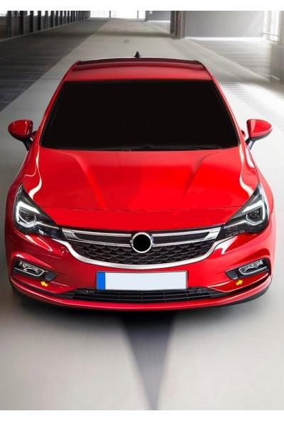 Z Tech Opel Astra K 2015 Sonrası Krom Sis Farı Çerçevesi 2Parça