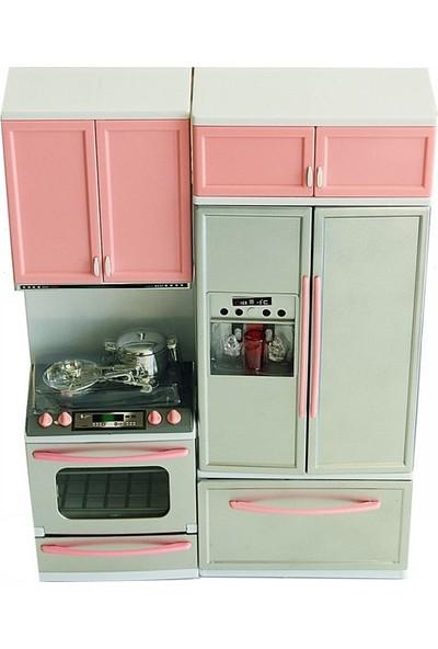 Vardem Modern Buzdolaplı Mutfak Oyuncak Seti
