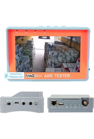"Magbox 4.3"" Ekranlı AHD+Analog Kamera El Tipi Test Cihazı"
