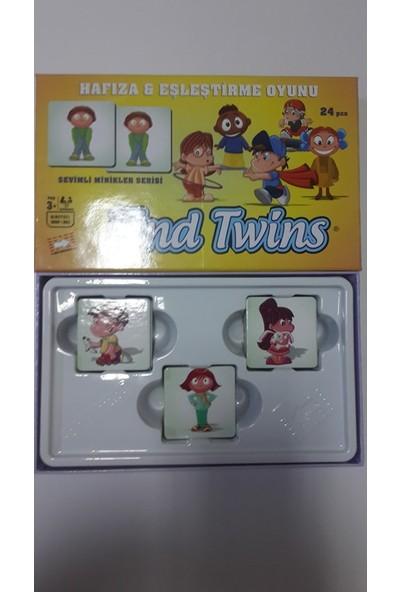 Find Twins: Sevimli Minikler 24 Parça